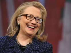 SF籌款活動上Hillary Clinton鼓勵女性投票