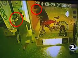 警方追緝無恥單車賊