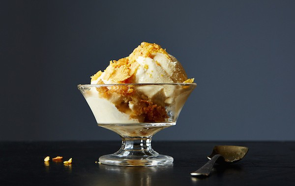 如何自製焦糖麥片牛奶冰淇淋Cereal Milk Ice Cream