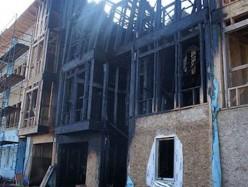 大火燒毀舊金山社會住宅工地