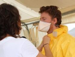 美將接第五例埃博拉患者回國治療 此前有人康復