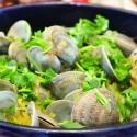 來自巴塞羅那的美味:藏紅花檸檬蛤蜊