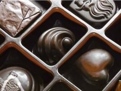 親手自做巧克力給你的情人