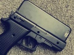 槍形手機殼 美警呼籲勿使用
