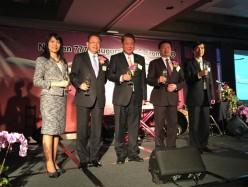 中華航空公司 全新777-300ER首航啟動慶祝晚會