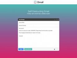 發錯郵件?Dmail幫你隨時刪除