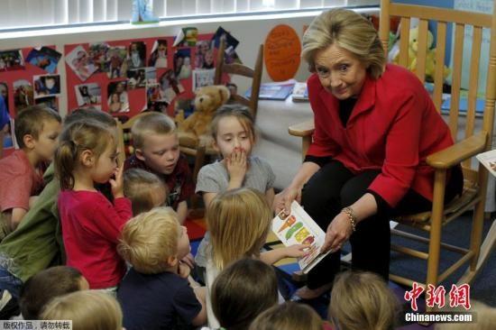 美前弗吉尼亞州參議員宣布競選總統希拉里仍領先