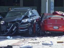 Mineta San Jose國際機場外發生車禍 一死五傷