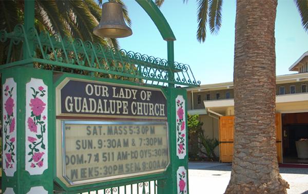 幫派爭鬥中的避風港:Our Lady of Guadalupe教堂