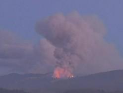 Monterey縣野火迅速擴大  週日燃燒面積過一萬英畝
