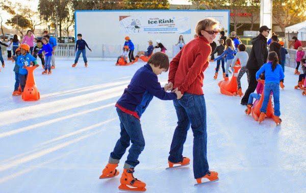 喜迎假日季 Alameda冬季溜冰場Little Ice Rink週五啟用