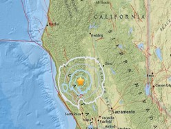 北加州海岸100英里海域發生6.5級地震