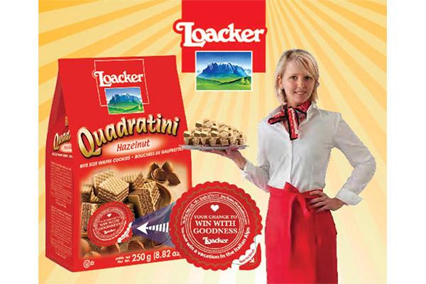 意大利Loacker威化餅 帶你贏取意大利深度游!