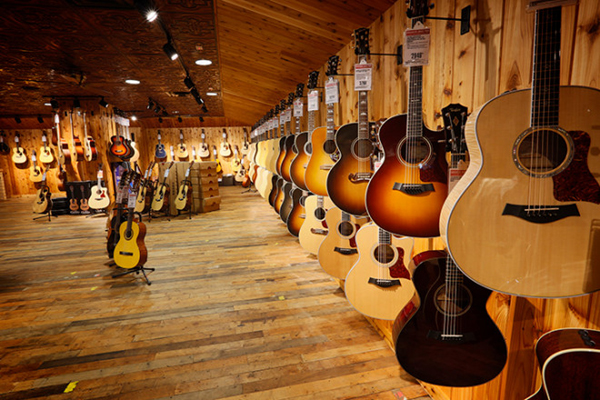 Guitar Center 在 Dublin 展店