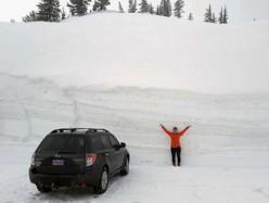 久旱逢好雪 Tahoe滑雪村要開到國慶日