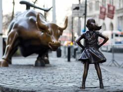 華爾街無畏女孩雕像將放到明年2月