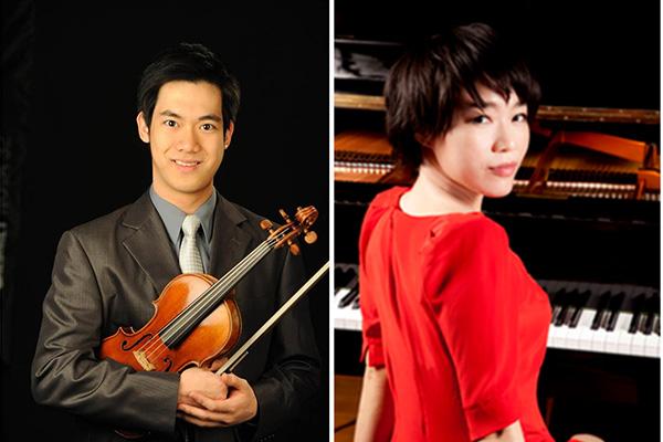 鋼琴家胡瀞云與小提琴家林品任為CMTANC募款