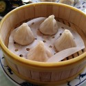 灣區水餃名人李青河 南灣水餃家園有18種口味水餃