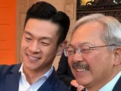 眾議員羅達倫對舊金山市長李孟賢去逝發表談話