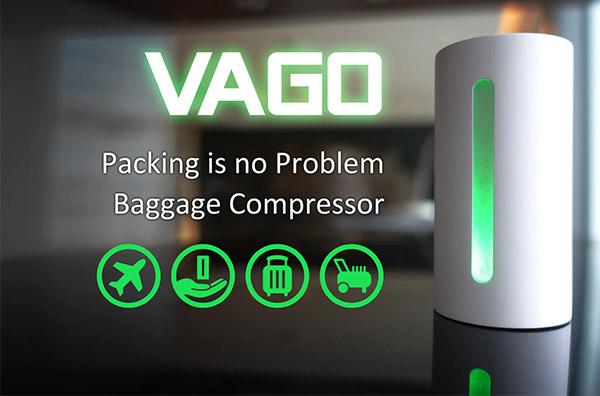 Vago真空壓縮機:出門旅遊收拾行李好幫手