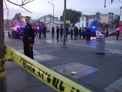 男子1月被BART警員槍殺家人看完視頻要公道
