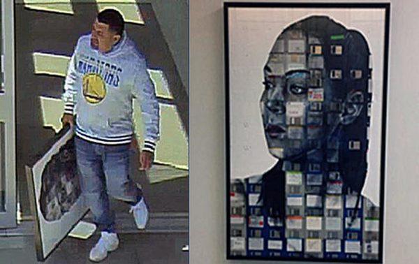 Valley Medical Center1.6萬元油畫被偷